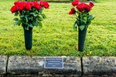 Kerbside memorial plaque