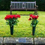 Bronze kerb plaque memorial