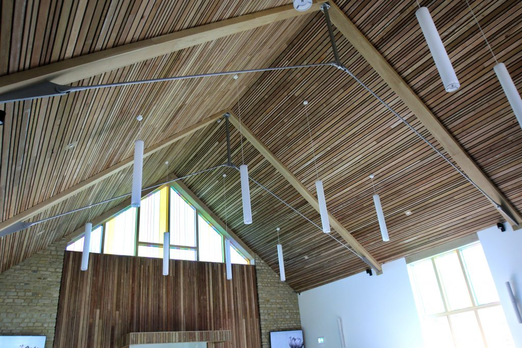 Inside of one of the new chapels