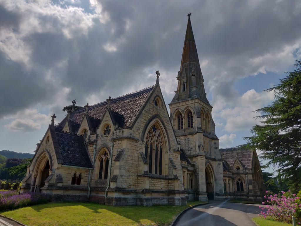 Historic chapel building exterior