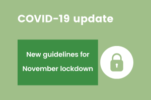 November lockdown service update image